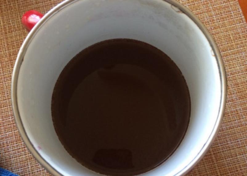 У смолян из кранов полилась вода кофейного цвета
