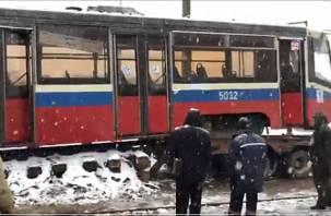В Смоленск прибыли еще два столичных трамвая оригинальной расцветки