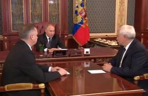 Президент сменил губернатора Петербурга на врио. Им стал экс-куратор Смоленщины Беглов