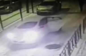 В Смоленске процесс избавления от трупа попал на видеокамеру