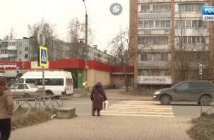 В Смоленске ликвидируют удобный пешеходный переход