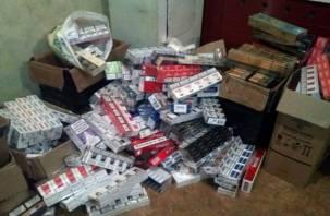 Смолянка попалась на нелегальной торговле контрафактными сигаретами