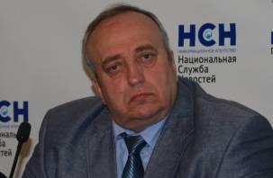Сенатор от Смоленщины объяснил свое странное поведение во время телепередачи