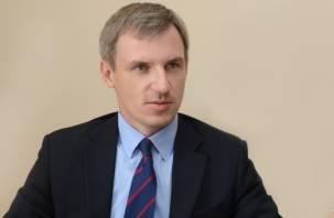 Анохин покинул должность вице-губернатора Смоленской области