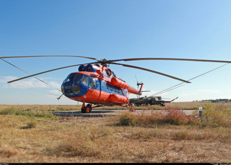 На аэродроме в Смоленске будет дежурить вертолет поисково-спасательной службы