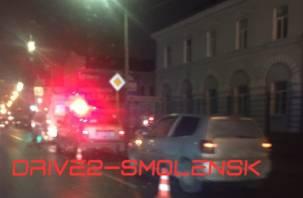 Очевидцы: В Смоленске на Фрунзе сбили женщину