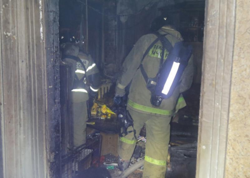 В Смоленской области в огне погиб человек