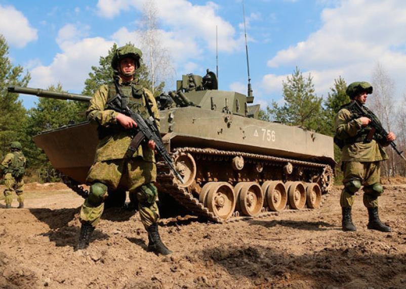 Российская армия вошла в «тройку» самых сильных на планете
