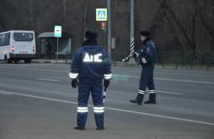В Смоленской области наказали почти 400 водителей за превышение скорости