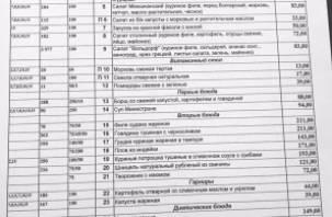 Депутат опубликовал в Сети цены столовой Госдумы
