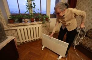 Пожилая смолянка замерзает в своей квартире четвертую зиму