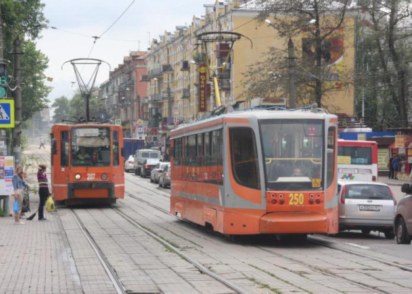 В Смоленске исчезли комфортные трамваи-«рыжики»