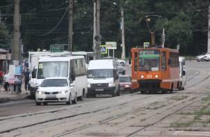 Смоленские автомобилисты будут платить за простой трамваев из-за ДТП