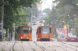 Началось. Закрывают движение трамваев на время ремонта улицы Николаева