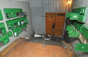 Смоляне ломают почтовые ящики