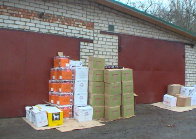 В Смоленске обнаружен склад контрафактного алкоголя