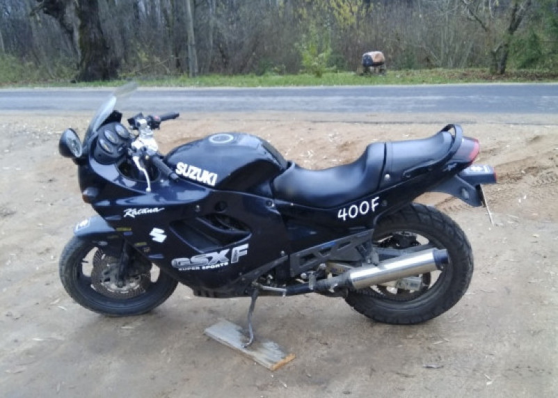 Смолянка разыскивает угонщиков её мотоцикла
