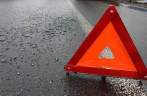 Стали известны подробности жесткой аварии на трасса М-1 под Смоленском