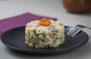 В России поднялись цены на главный новогодний салат