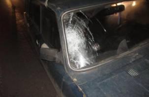 В Смоленске водитель «четверки» сбил пешехода на оживленной улице