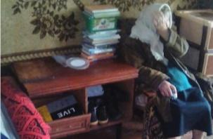 Смоленская пенсионерка замерзает в доме без газа и отопления