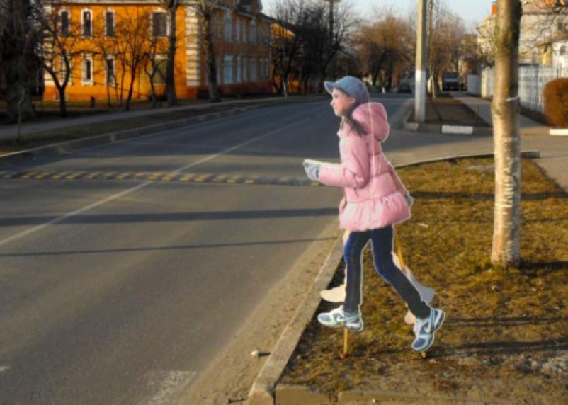 В Смоленске и Рославле установят «картонных детей»