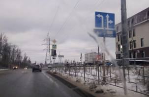 В Смоленске изменили светофор и рядность движения