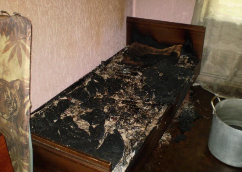 В Гагарине в пожаре погиб мужчина