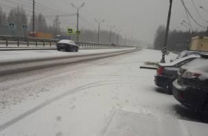 «Метель идет в Смоленск». На область обрушился снегопад