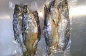 В Смоленскую область не пропустили 12 тонн сушеной рыбы