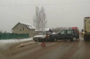 Под Смоленском произошла серьезная авария