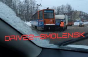 В Смоленске трамваи стали в сторону Киселёвки и до железнодорожного вокзала
