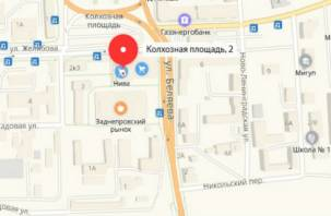 В Смоленске ограничено движение транспорта по Колхозной площади