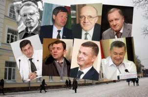 Мэры и полуМэры в истории Смоленска