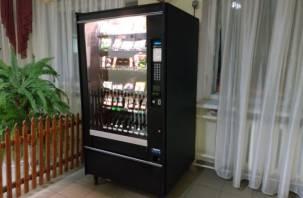 Нужны ли автоматы со сладостями в смоленских школах и что в них можно продавать