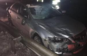 В Смоленской области водитель иномарки насмерть сбил пенсионера