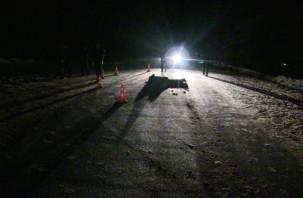 В Смоленской области на трассе М-1 обнаружили труп мужчины