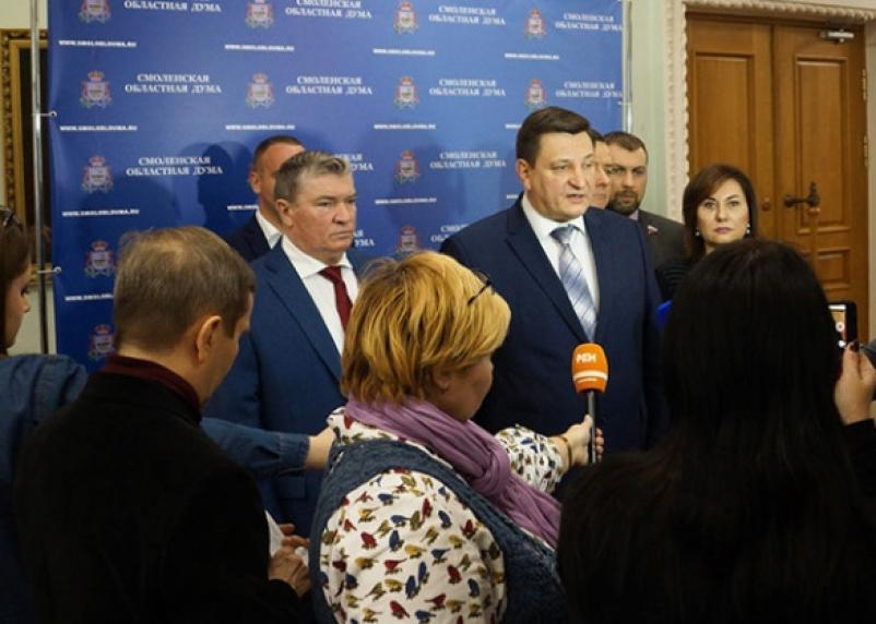 В Смоленске после пендаля из Москвы «Единая Россия» признала свои ошибки