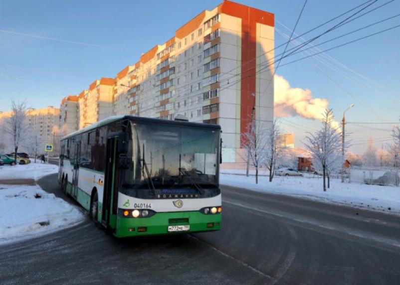 Все 22 автобуса из столицы доставлены в Смоленск