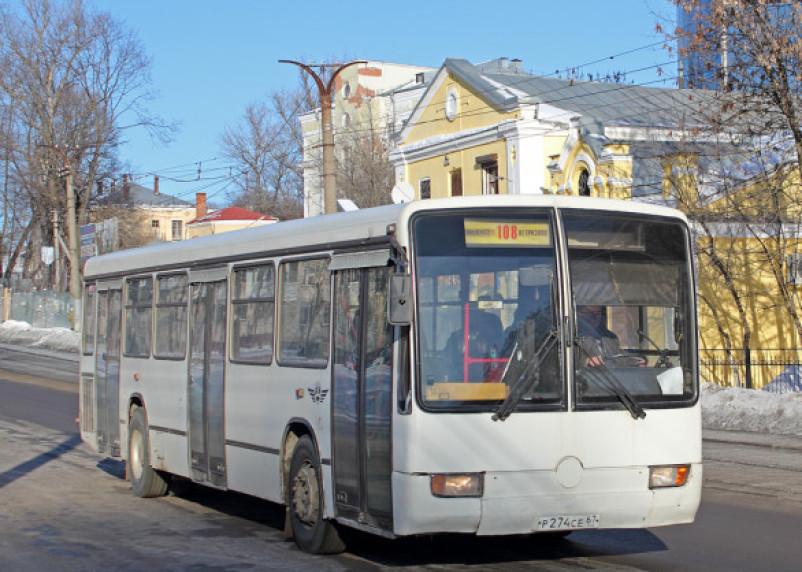 В Новом году изменится расписание смоленских пригородных автобусов