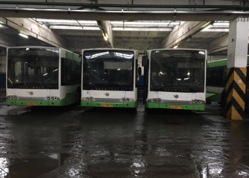 Пять автобусов в Смоленске изменят схему движения