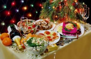 Бутерброд с икрой и три мандарина. Названы регионы с самым дорогим новогодним застольем