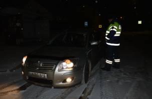 На Смоленщине в выходные усилят патрули ДПС на аварийных участках дорог