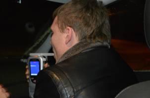 В Смоленской области продолжают раскатывать по дорогам пьяные водители