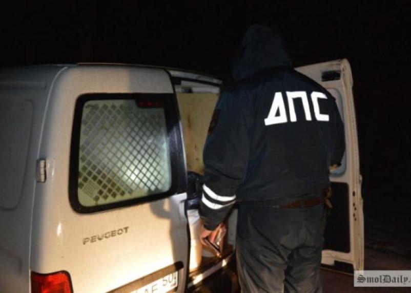В Смоленске пьяный водитель ночью ударил сотрудника ГИБДД