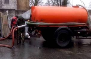 Смоленские «золотари» засоряют канализацию