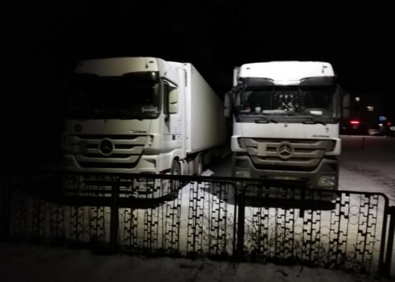Белорусские таможенники прокомментировали ситуацию с пробкой из фур на границе
