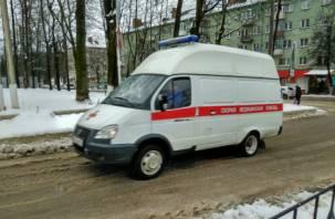 Авария на Московском шоссе закончилась для смолянки госпитализацией