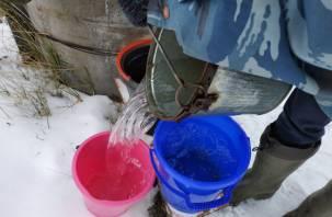 Жители Угры из-за коммунальной аварии остались без воды