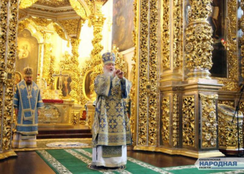 Патриарх Кирилл: Порошенко нарушает Конституцию Украины